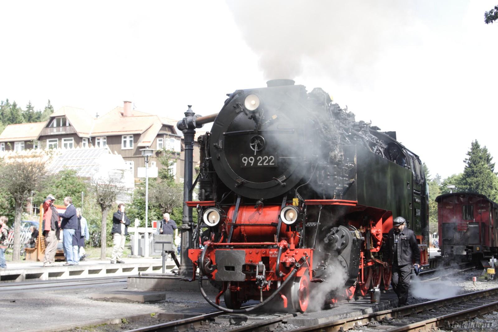 HSB September 2010 BR99-222 in Drei Annen Hohne