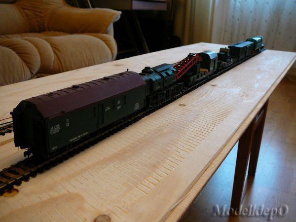 Вагон-гараж ремонтно-восстановительного поезда