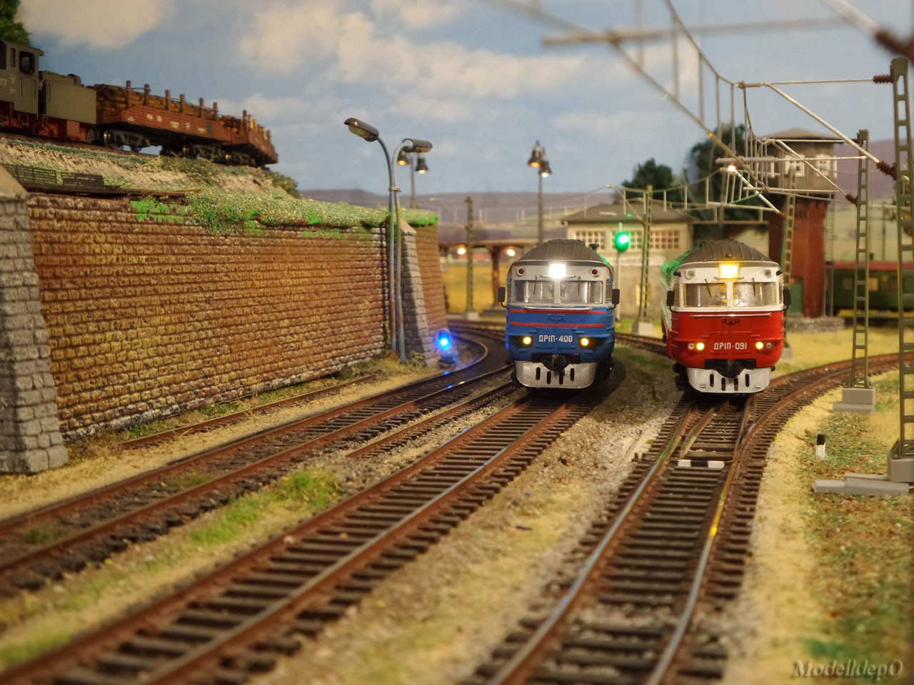 Мои дизельные поезда.