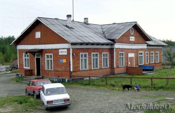 Вокзал ст.Сумпосад Окт.ЖД